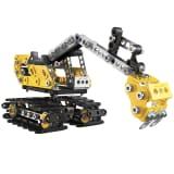 Meccano 2 en 1 set excavadora y buldócer 6027036