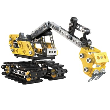 Meccano 2-in-1 Model Set Excavator and Bulldozer 6027036[1/3]