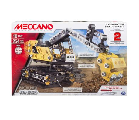 Meccano 2-in-1 Model Set Excavator and Bulldozer 6027036[3/3]
