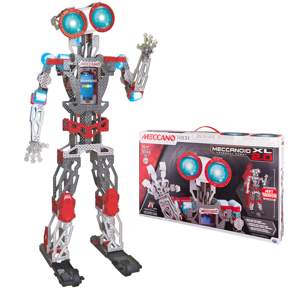 Meccano Robot personal Meccanoid XL 2.0 6034309 poza vidaxl.ro