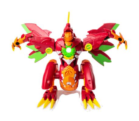 Bakugan Dragonoid Maximus naranja y rojo