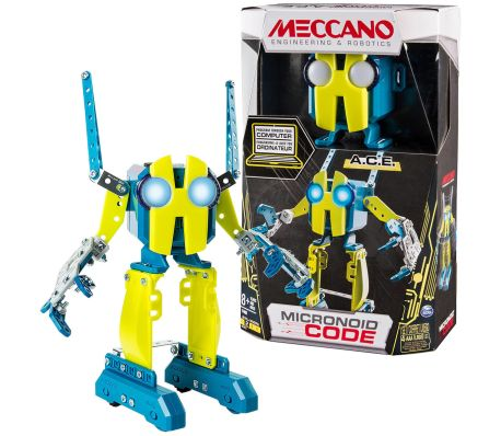 Meccano Robot Personal  MicroNoid Code ACE amarillo 6040125
