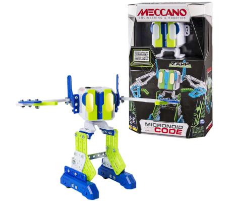 Meccano Robot personal MicroNoid Code Zapp verde 6040126