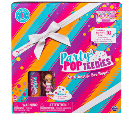Party Popteenies Party surprise box speelset 6044091[6/6]