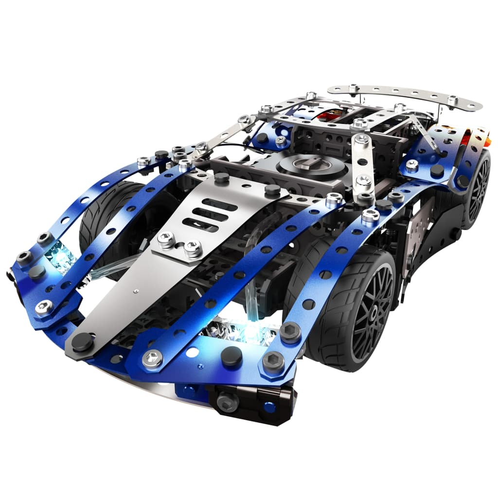 Meccano Set construcție auto 25-în-1 Super Car, albastru, 6044495 poza vidaxl.ro