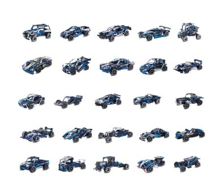 Meccano Set de modelo 25 en 1 Super Car azul 6044495[4/4]
