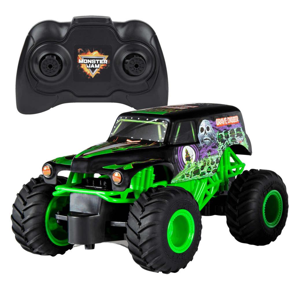 Monster Jam Camion Grave Digger, comandă radio, 1:24 imagine vidaxl.ro