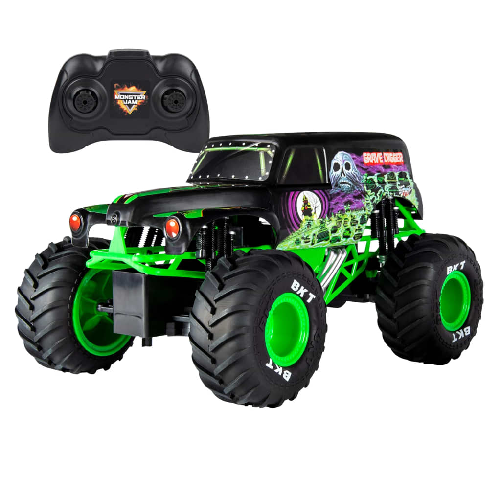Monster Jam Camion Grave Digger cu comandă radio 1:15 imagine vidaxl.ro
