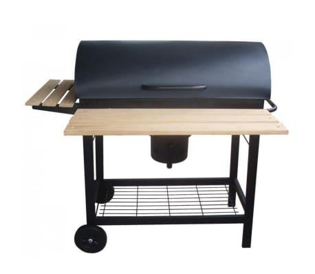 Le Caloundra : Barbecue roulette couvercle bois ou au