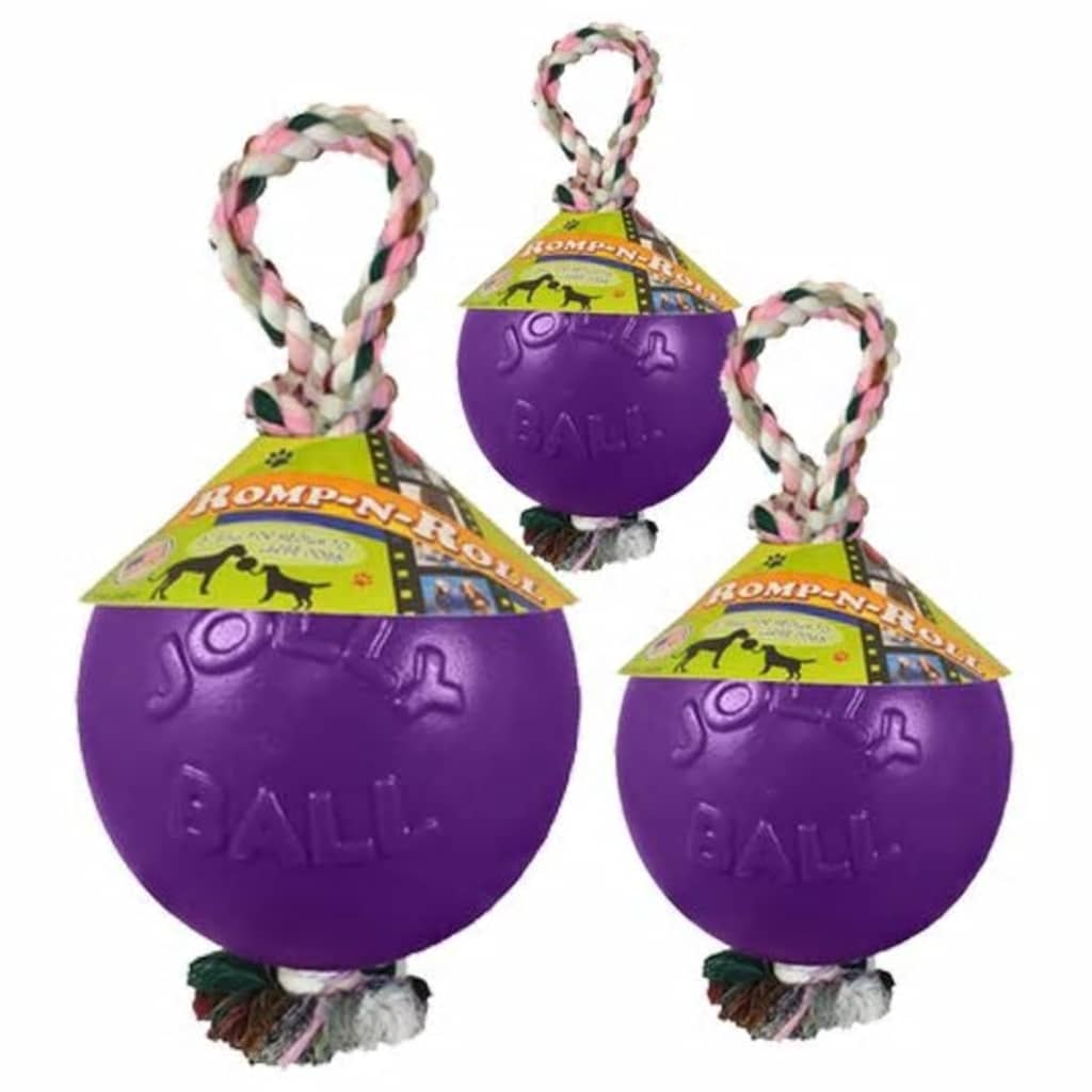 Jolly Romp-n-Roll Small (4 inch) 11 cm paars
