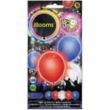 Illooms led-ballonnen Red, White, Blue zakje van 5 stuks