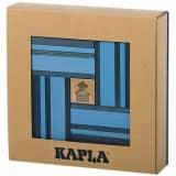 Kapla Houten plankjes set blauw 40 st KAPL172107