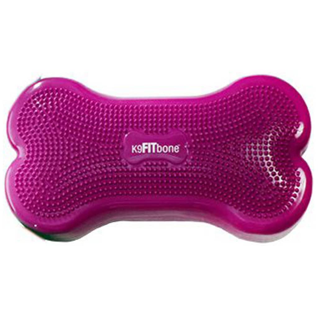 FitPAWS Platformă echilibru animale K9FITbone, roz, 58 x 29 x 10 cm poza 2021 FitPAWS