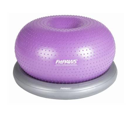 FitPAWS Balle d'équilibre pour animaux de compagnie TRAX Donut 55 cm[2/7]