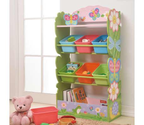 Magic Garden Wooden Toy Storage Tidy