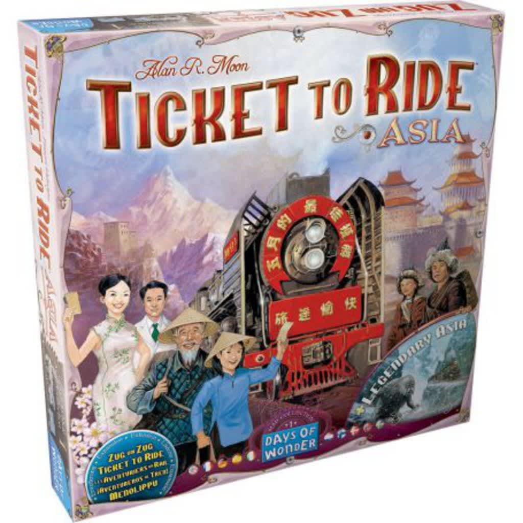 Afbeelding van Days of Wonder uitbreiding Ticket to Ride Azië