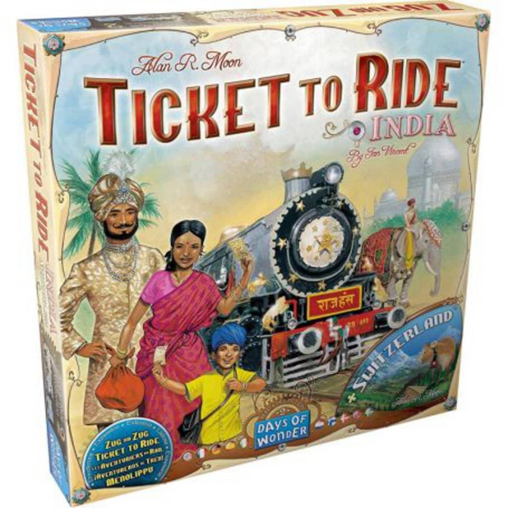 Afbeelding van Days of Wonder uitbreiding Ticket to Ride India