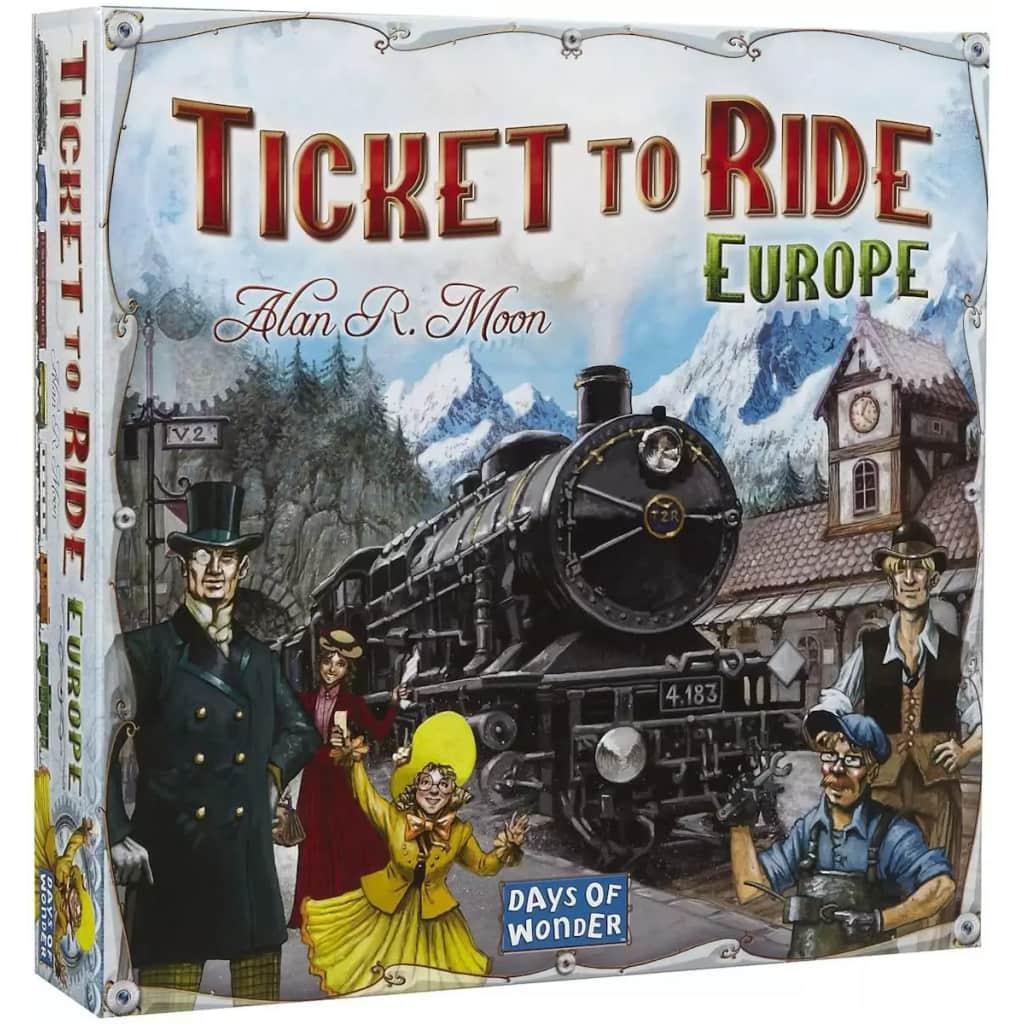 Afbeelding van Days of Wonder bordspel Ticket to Ride Europe
