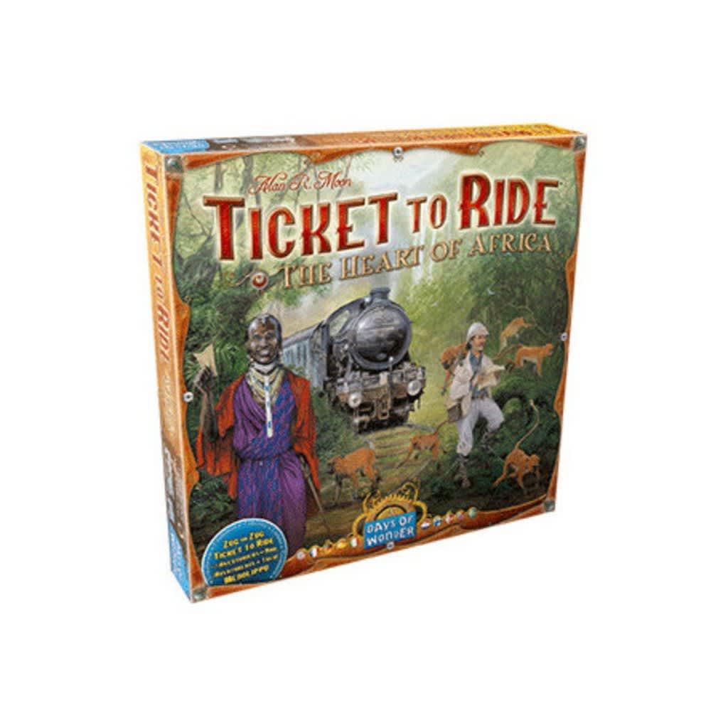 Afbeelding van Days of Wonder uitbreiding Ticket to Ride Afrika