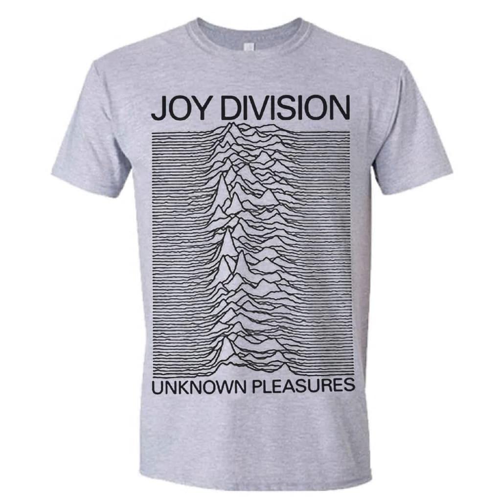 Joy Division JOY DIVISION UNKNOWN PLEASURES (GREY) T-Paita