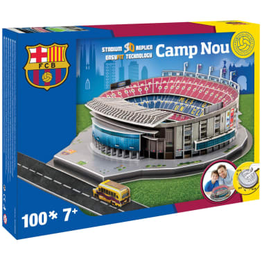 Nanostad Juego puzzle 3D Camp Nou 100 piezas 38x42,8x12,5cm PUZZ180050[2/2]
