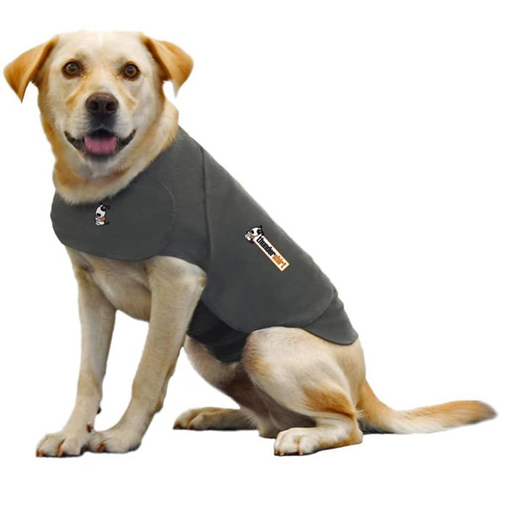 ThunderShirt Vestă antistres pentru câini, L, gri 2017 poza 2021 ThunderShirt
