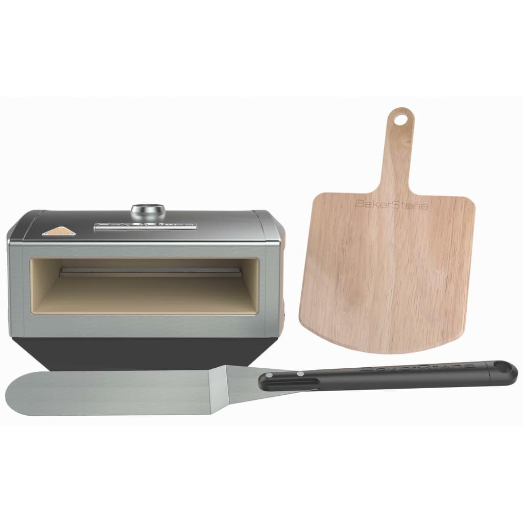 Afbeelding van BakerStone Pizzaoven voor het fornuis roestvrij staal OS-ABDXX-O-SSS