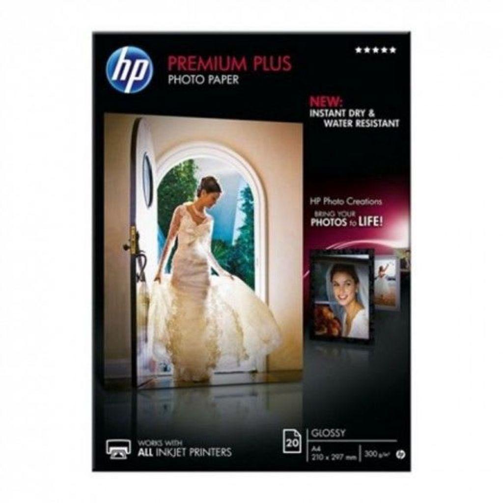 Onbekend Glossy Photo Paper Hewlett Packard CR672A A4 (20 sheets)
