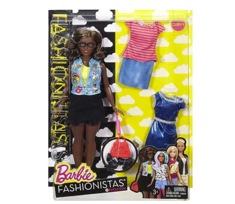 Barbie Fashionistas Puppe Emoji Fun DTF02[5/5]