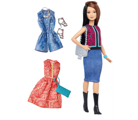 Barbie Muñeca Barbie Fashionistas Pretty in Paisley DTF04