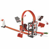 Hot Wheels Kit de construction de circuit de course DWW96