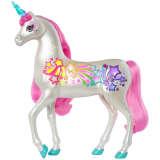 Barbie Dreamtopia magique licorne avec brosse et lumière