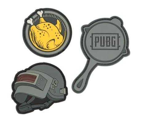 PUBG, Gummimärken med kardborreband