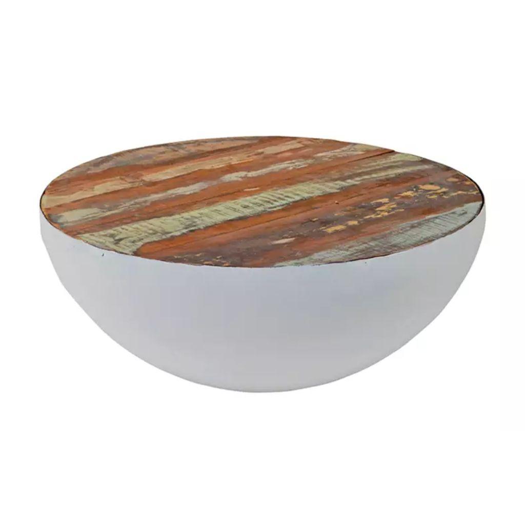 Brix - Bob Bowl 70 Salontafel Wit