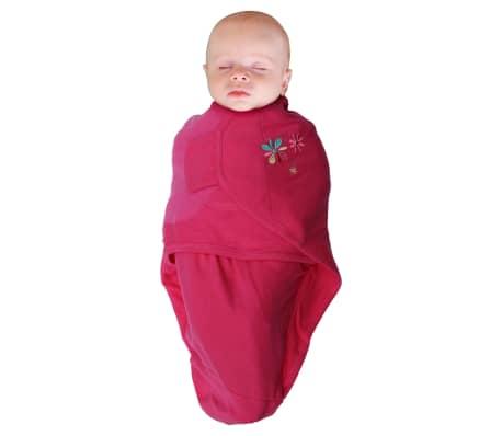 Bo Jungle Otulacz dla niemowląt B-Wrap, kwiatuszek, 3 szt., różowy[3/4]