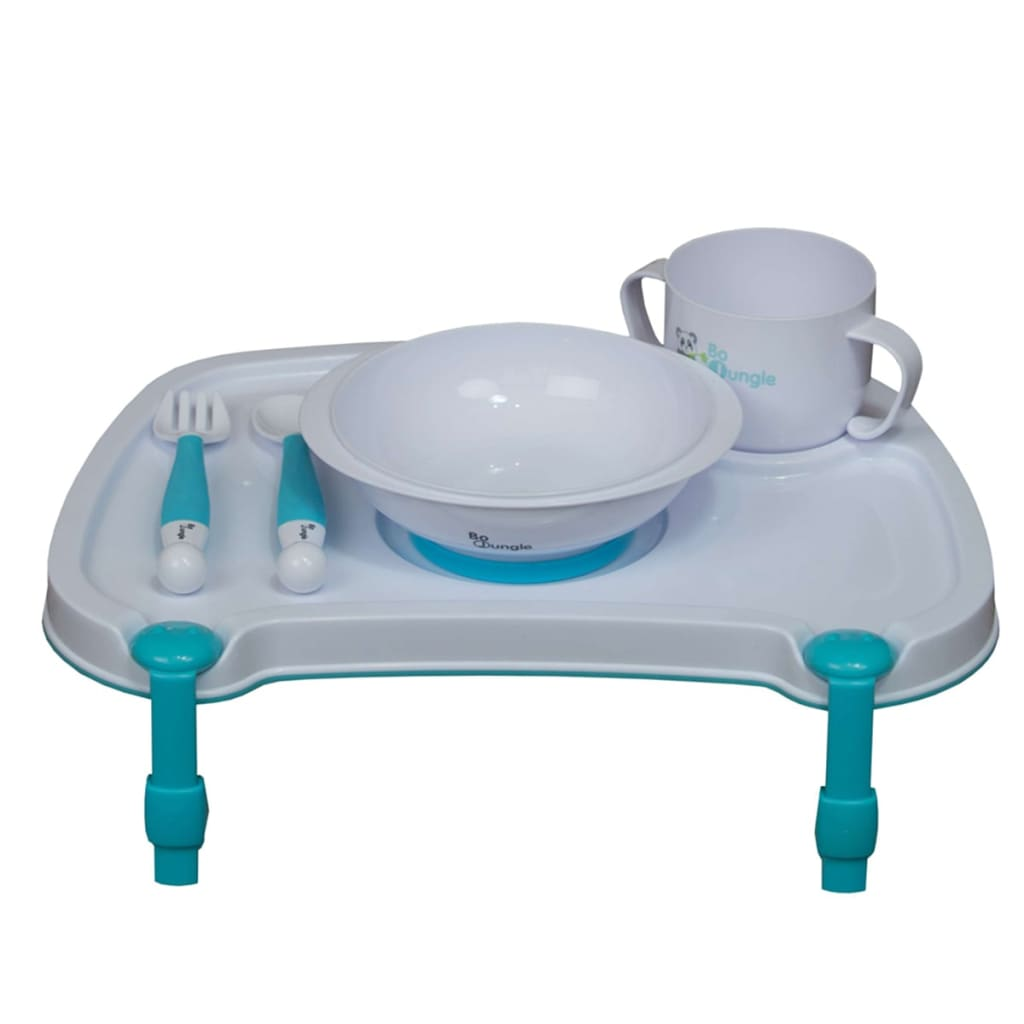 Afbeelding van Bo Jungle B-Dinner Tray Set wit B550500