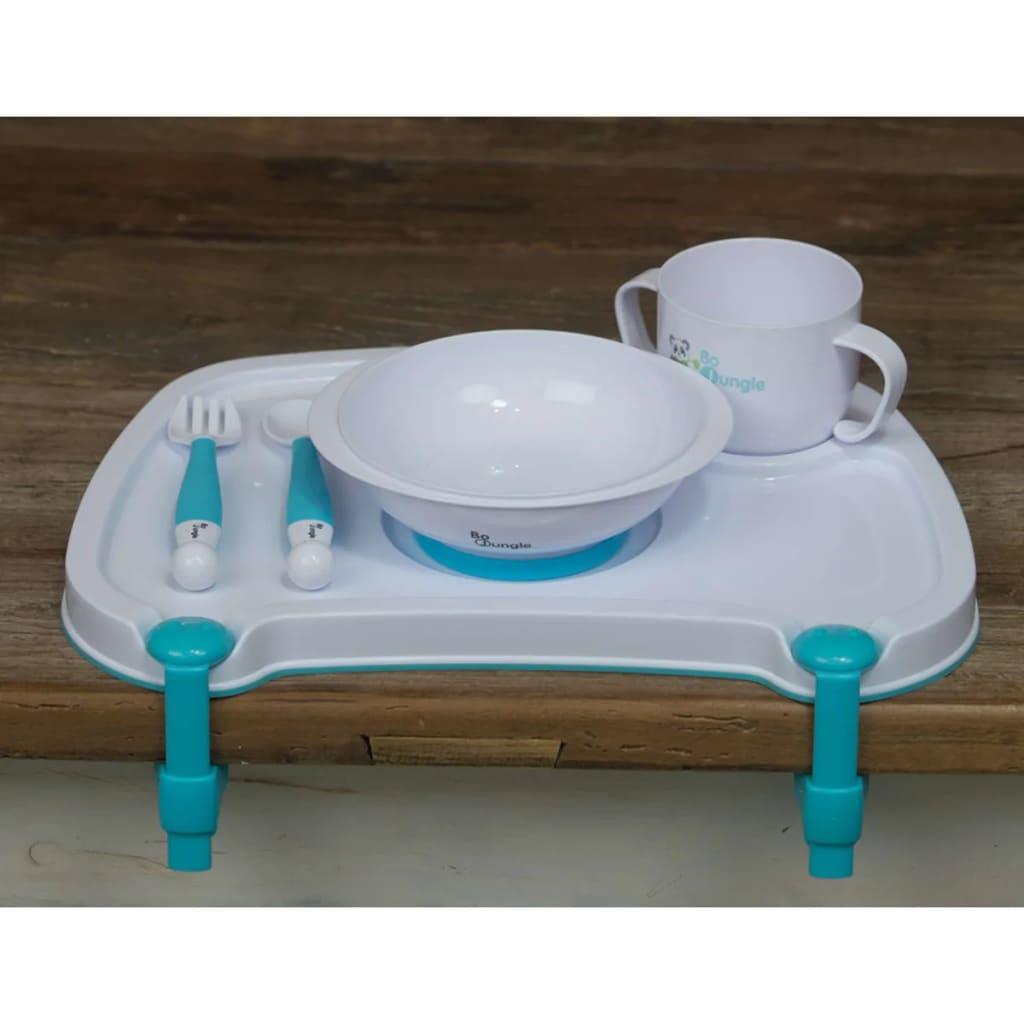 99411143 Bo Jungle B-Dinner Tischset mit Besteck und Geschirr Weiß B550500