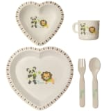 Bo Jungle B-Dinner Set Heart B550600