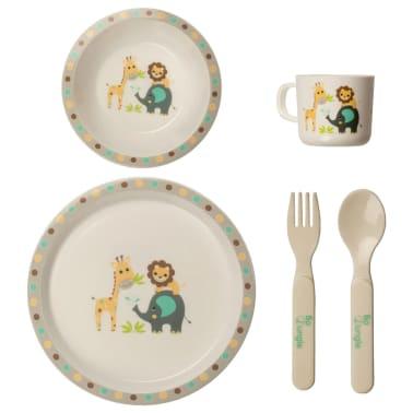 Bo Jungle Ensemble à dîner pour bébés Rond[1/7]