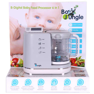 Bo Jungle B Digital Robot De Cuisine Pour Bebe 6 En 1 B580000