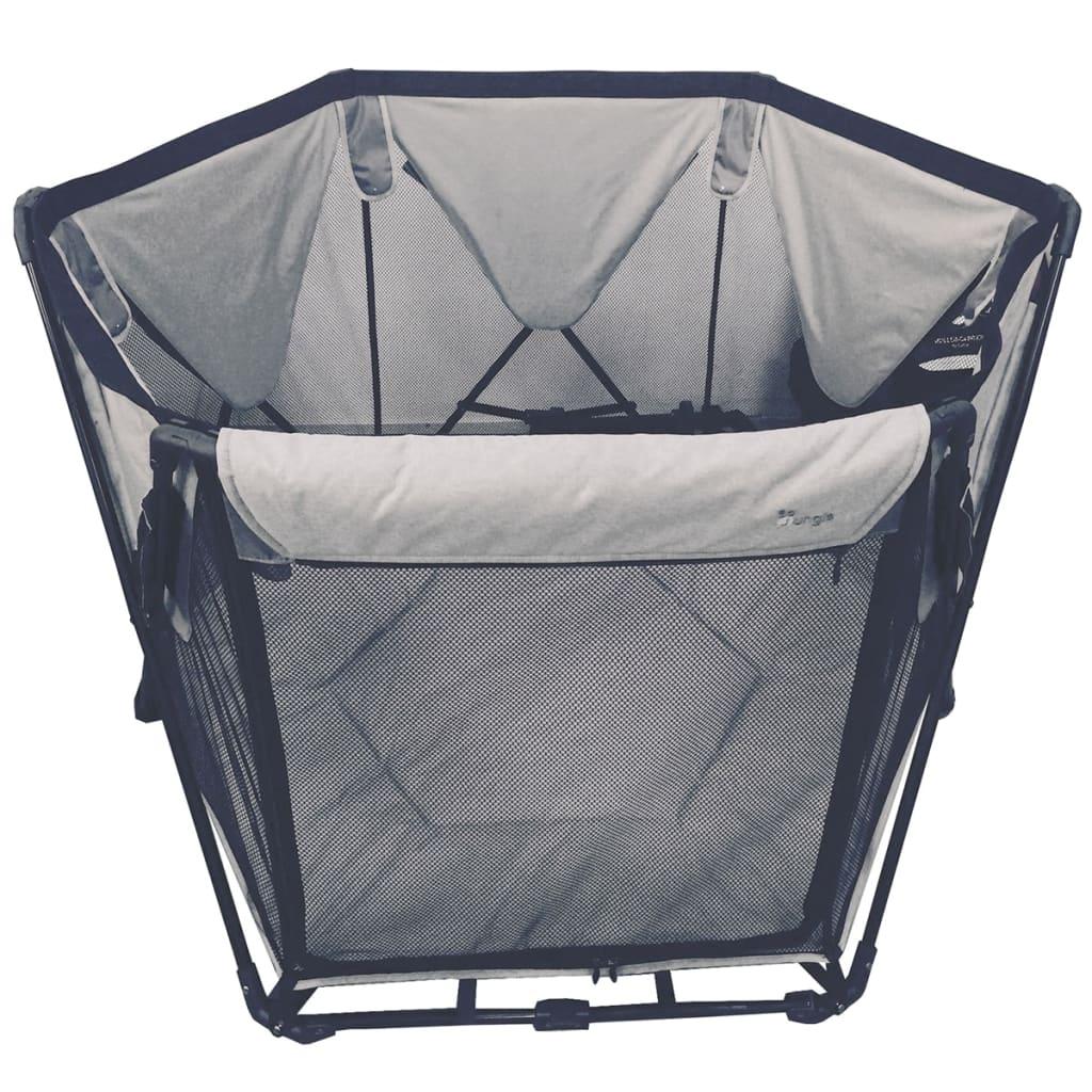Bo Jungle B-Foldable Babybox 120x75x140 cm grijs B700400