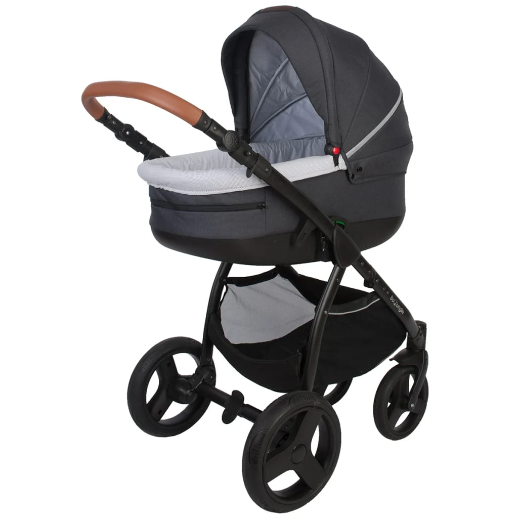 Bo Jungle B-Zen Kinderwagen 4-in-1 grijs B700535