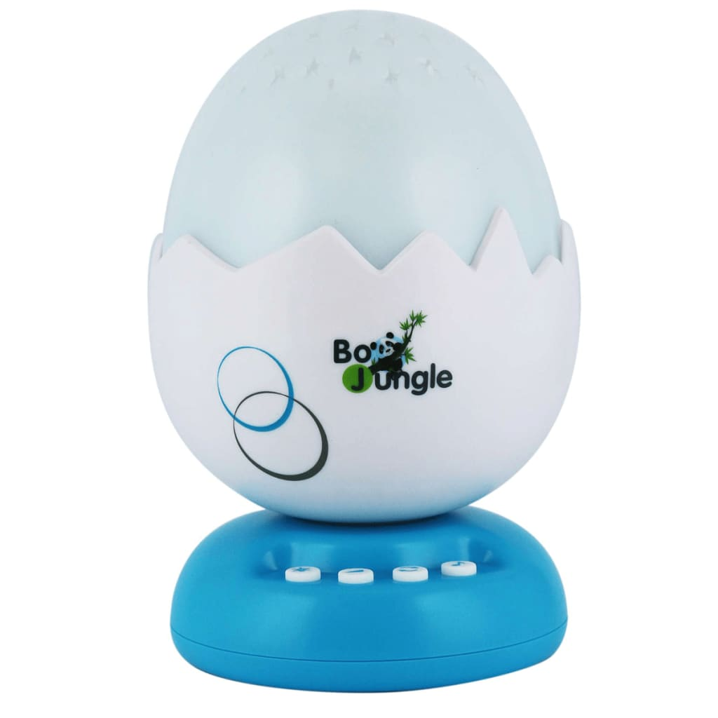 Afbeelding van Bo Jungle B-Egg muziekprojector nachtlamp turquoise B800510