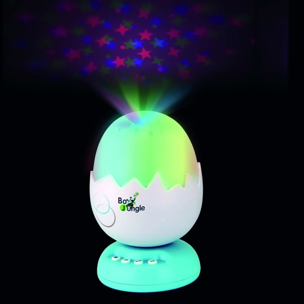 Bo Jungle B-Egg muziekprojector nachtlamp turquoise B800510