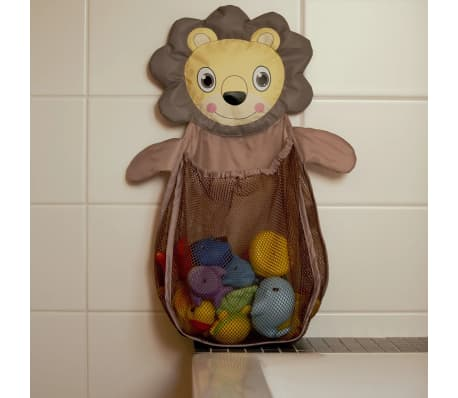 Bo Jungle B-Bath Toy Storage Net Lion Brown Shower Mesh Bag ...