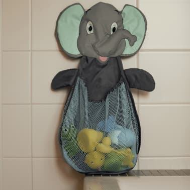 Bo Jungle Bolsa red para guardar juguetes B-Bath elefante azul B900310[2/3]