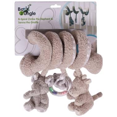 Bo Jungle B-Spiral Barre à jouet Éléphant et girafe Beige B990710[3/3]