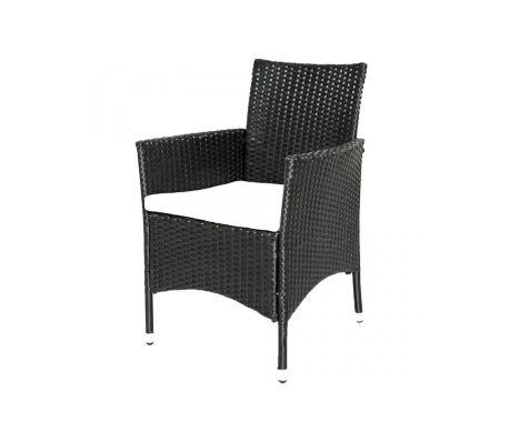 Acheter Salon de jardin 6 chaises rotin résine tressé synthétique ...