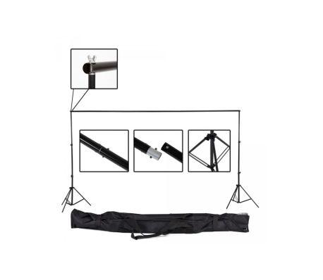 Toile de fond tissu de fond pour photo vidéo studio blanc 3 x 6m[5/5]