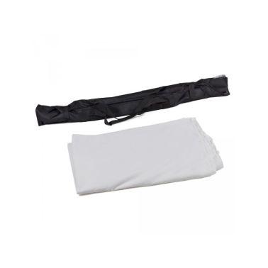 Toile de fond tissu de fond pour photo vidéo studio blanc 3 x 6m[4/5]